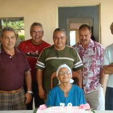 Festa de aniversário - 79 anos